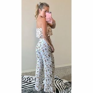 Tilly's Dresses - Two piece pant & crop top